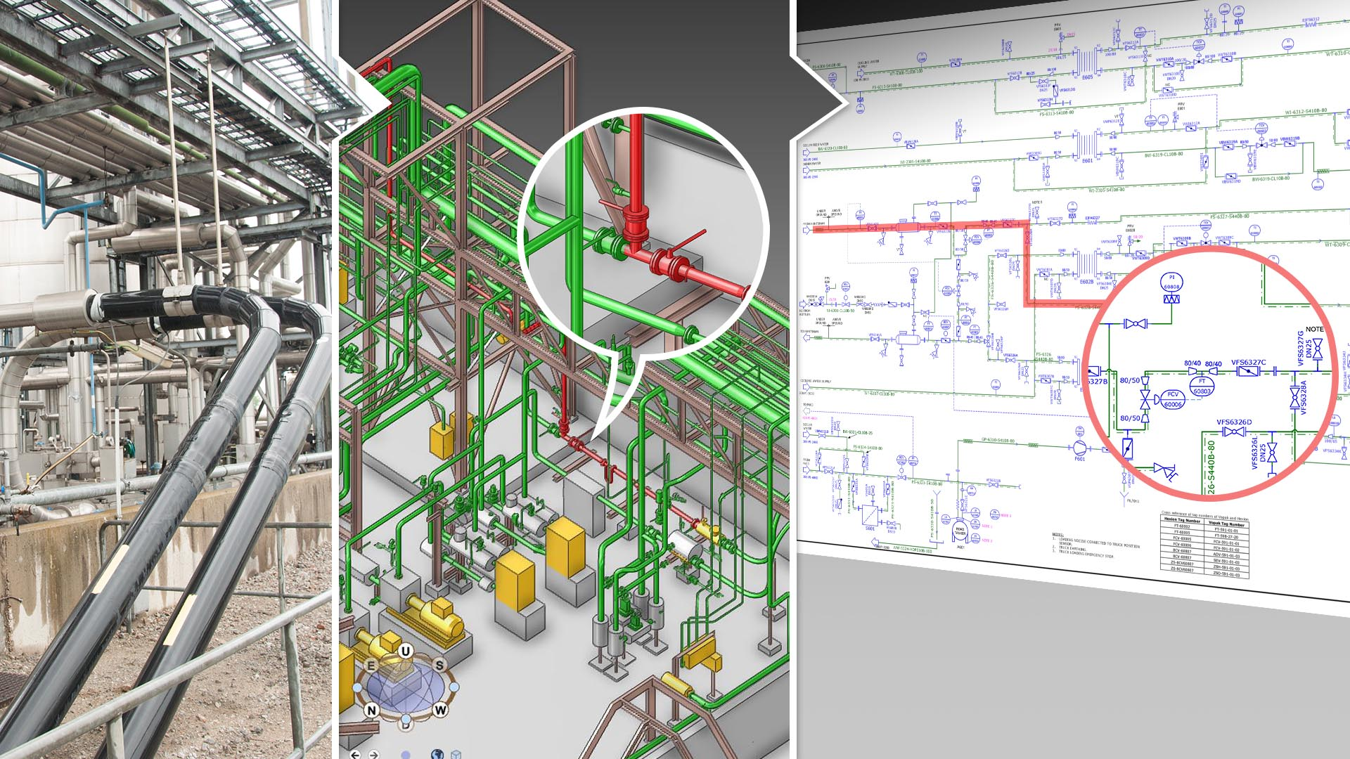 iso drawings and aveva pdms