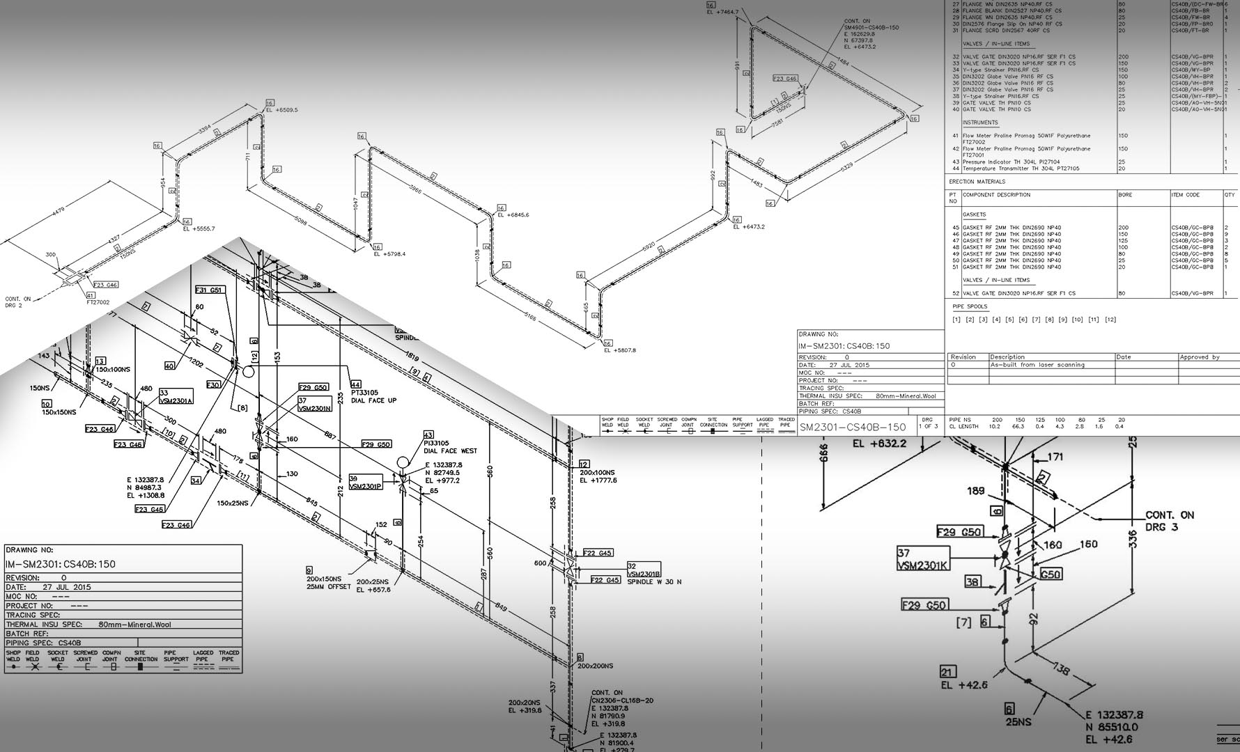 iso drawings from aveva pdms
